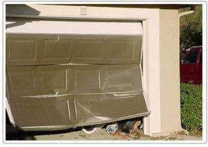 Garage Door Insurance Claims